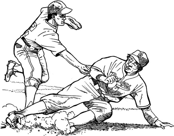 576x452 Los Angeles Dodgers Coloring Pages