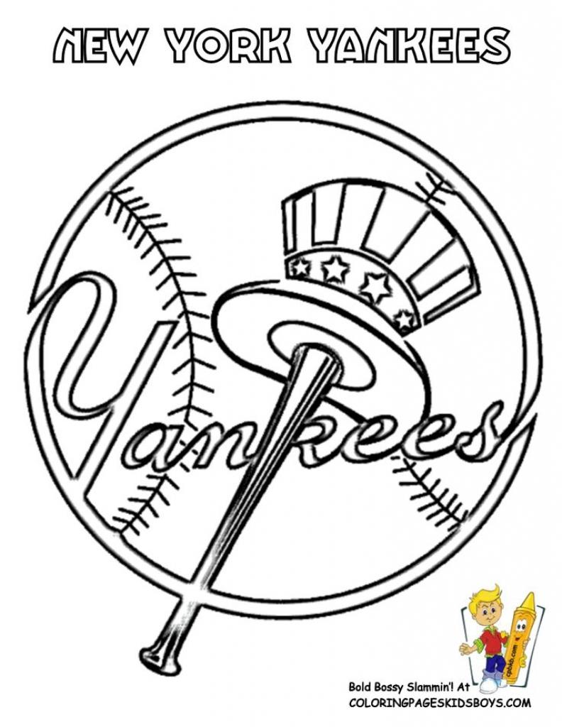 792x1024 Printable Baseball And Softball Coloring Pages Free Coloring