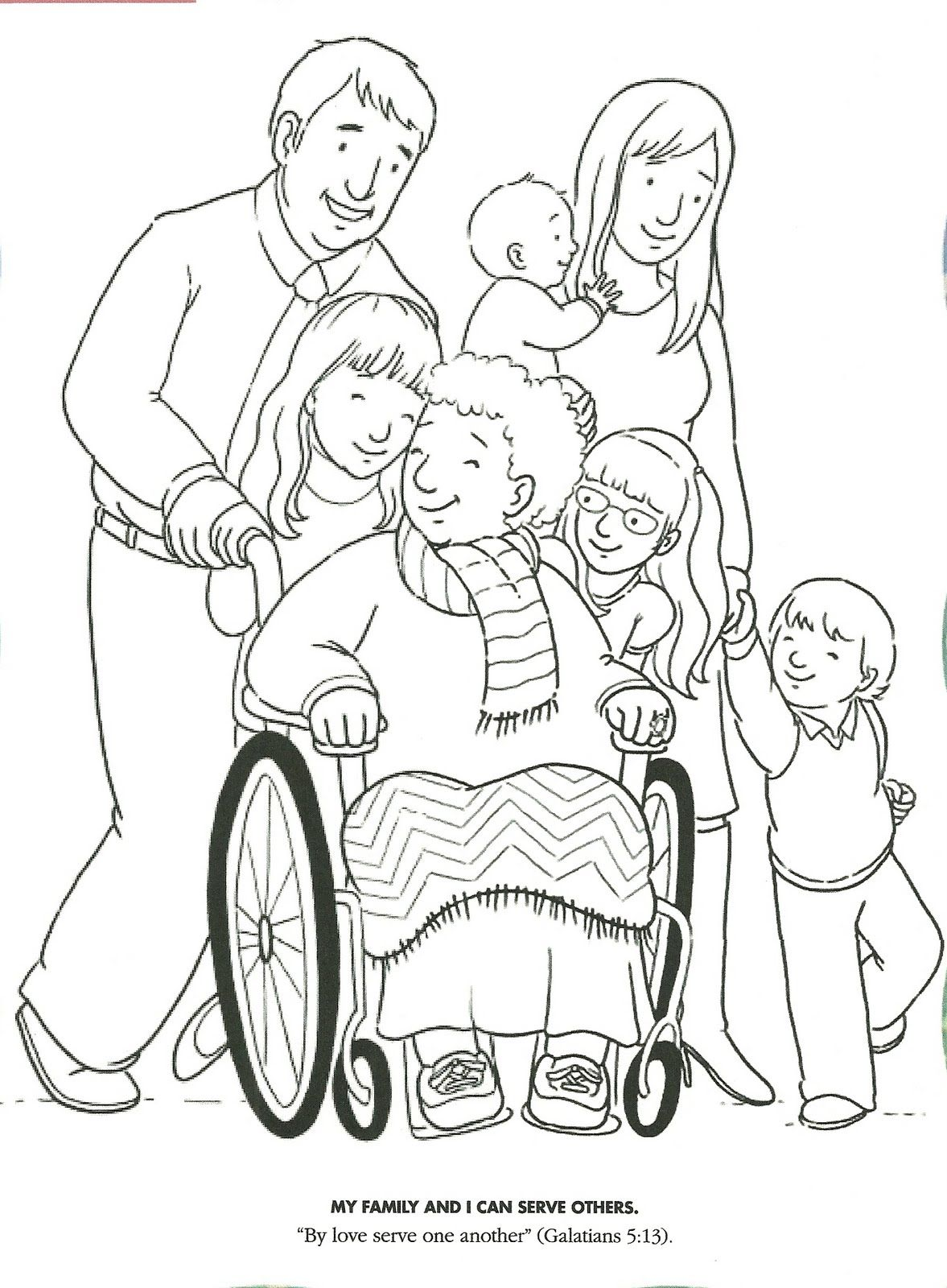 1177x1600 Lds Primary Coloring Pages Coloring Page Serving And Showing