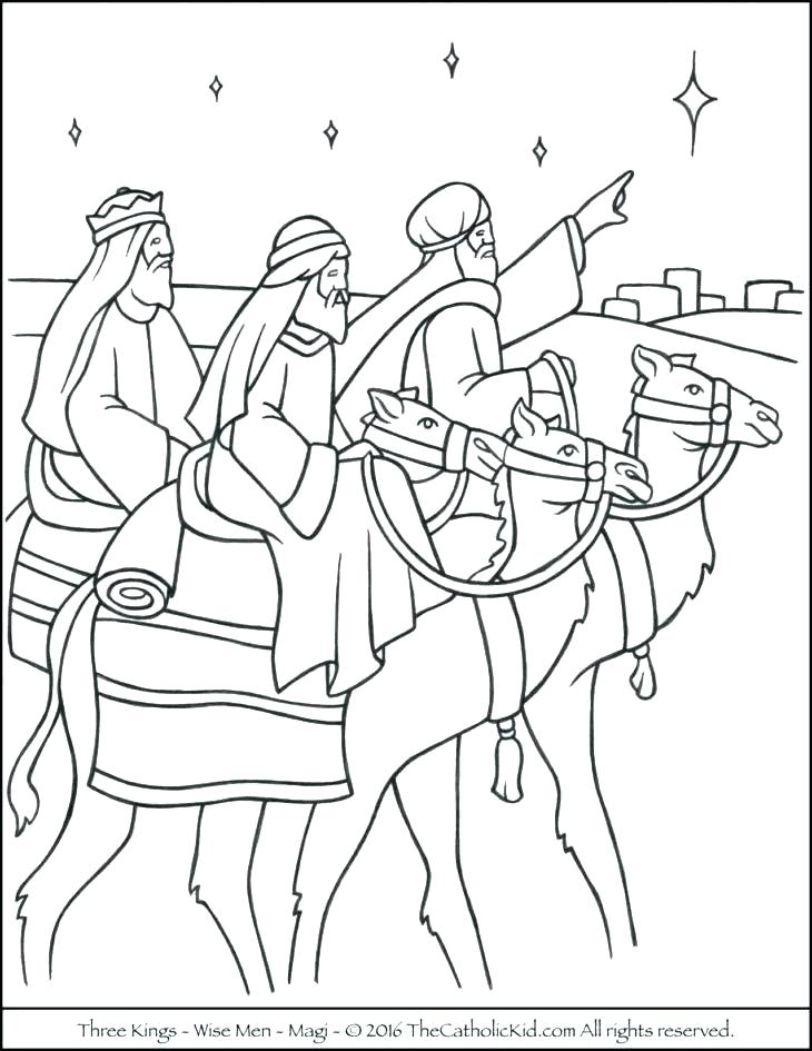 730x945 La Kings Coloring Pages Three Wise Men Coloring Pages La La Kings