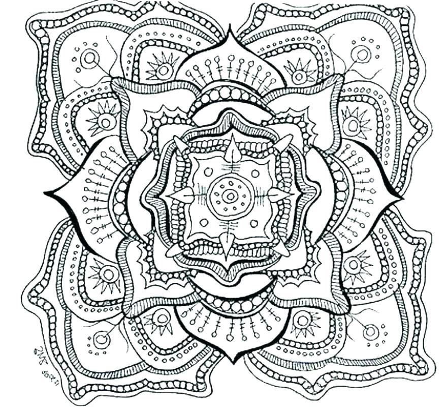 878x802 La Kings Coloring Sheets Animal Mandala Pages Printable Free P