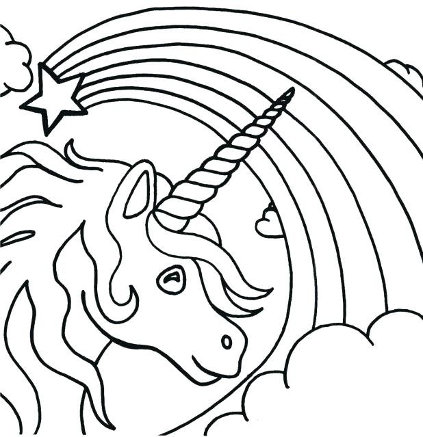 618x639 La Befana Coloring Page Free Printable Unicorn Coloring Pages