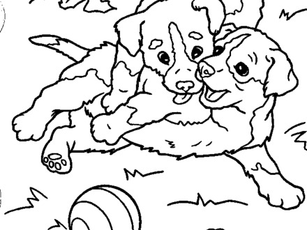 Lab Coloring Pages