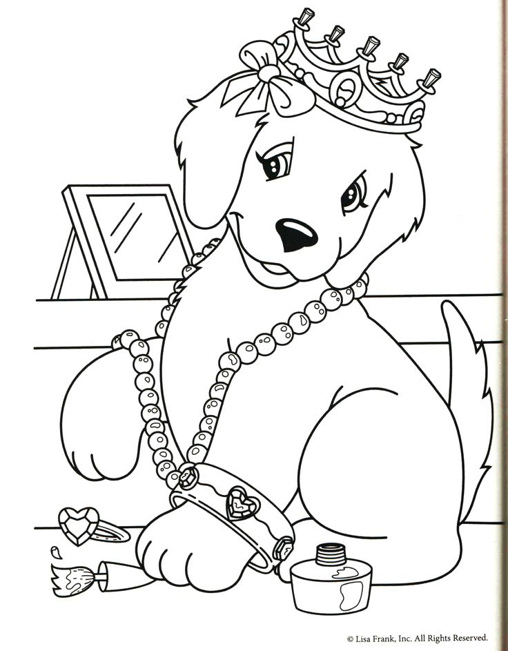 736x943 Puppy And Dog Coloring Pages Download Free