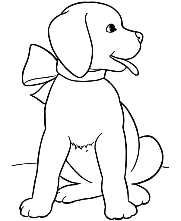 600x734 Black Lab Dog Coloring Pages Coloring Pages Of A Puppy Go Digital