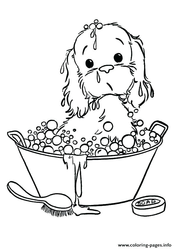 595x842 Dog Color Pages Dog Coloring Pages For Kids Puppy Dog Colouring