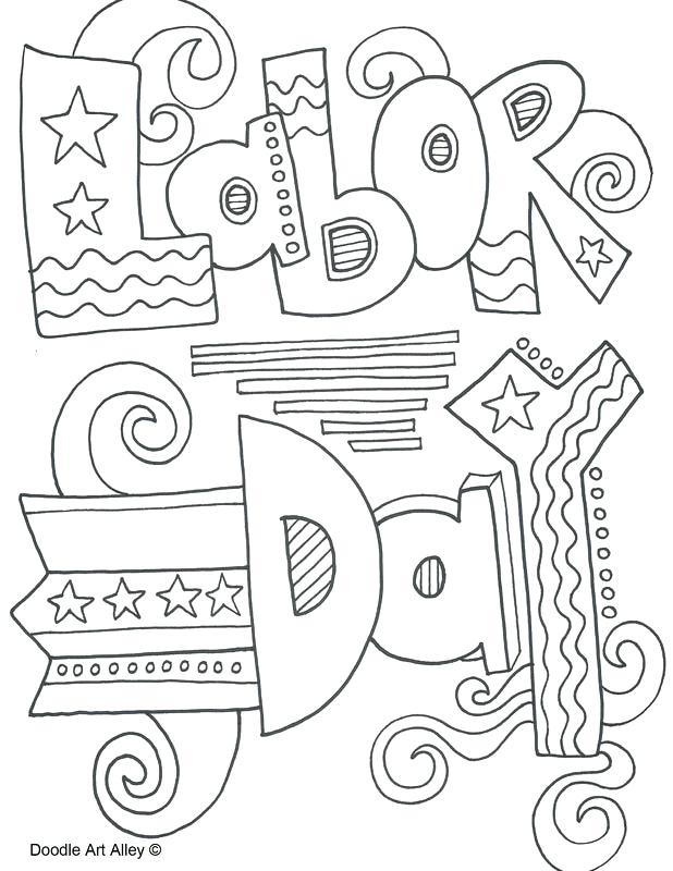 618x800 Labor Day Color Labor Day Coloring Pages Labor Day Coloring Pages