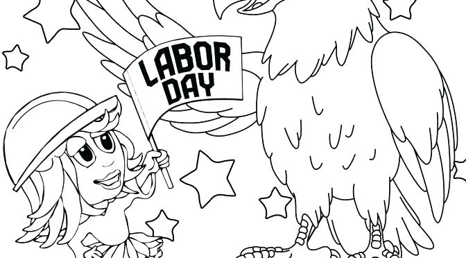 672x372 Labor Day Coloring Pages Or Labor Day Coloring Pages Labor Day
