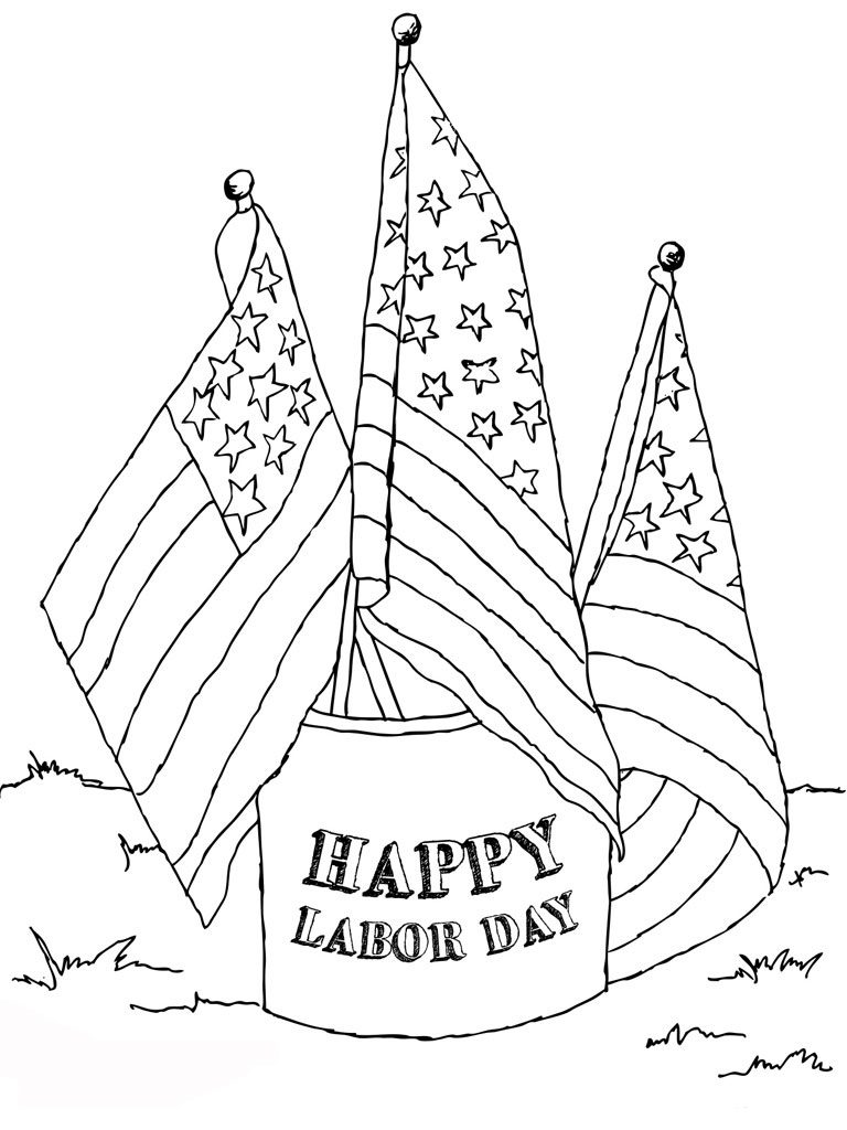 768x1024 Labor Day Coloring Pages Popular Labor Day Coloring Pages Free