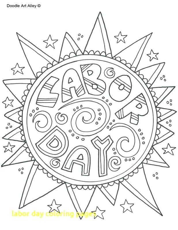 618x800 Labor Day Coloring Pages Free Printable