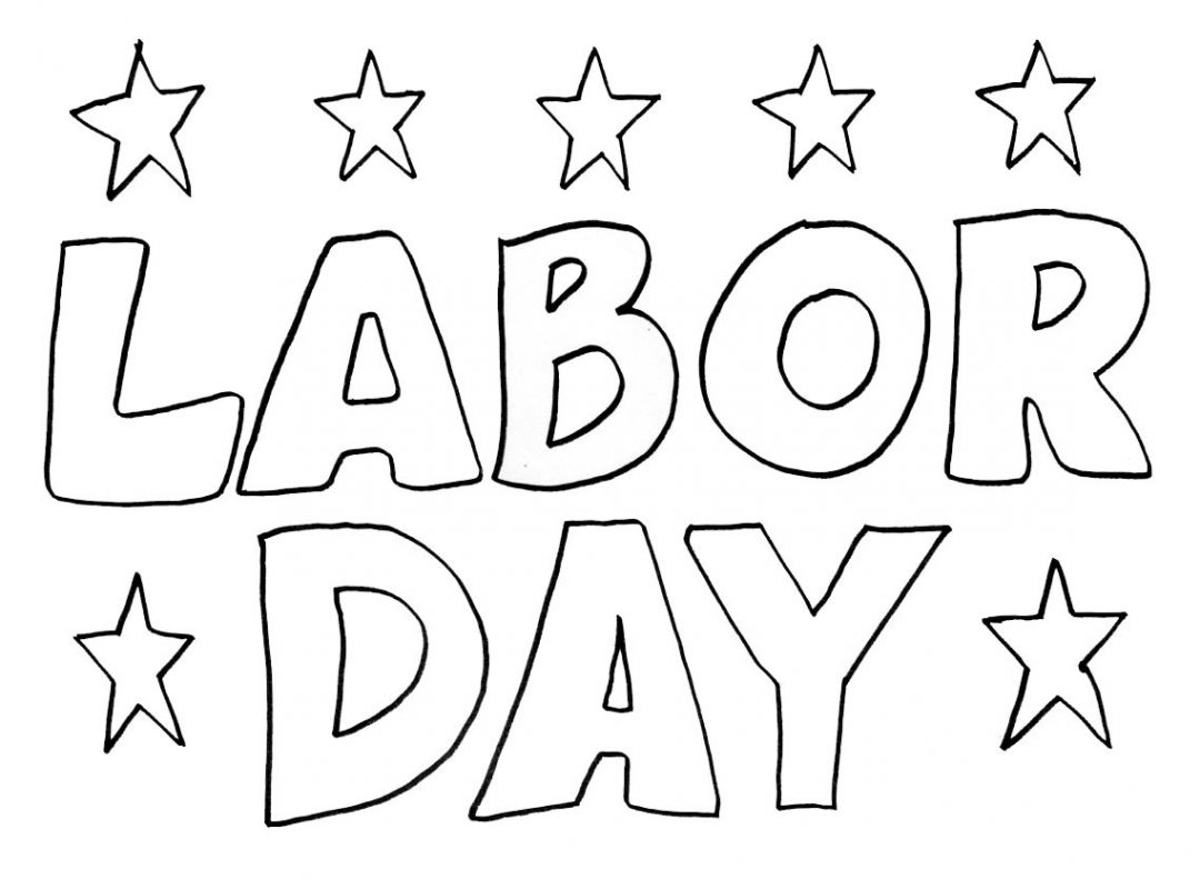 1080x800 Free Labor Day Coloring Sheets Printable Columbus Pages Page