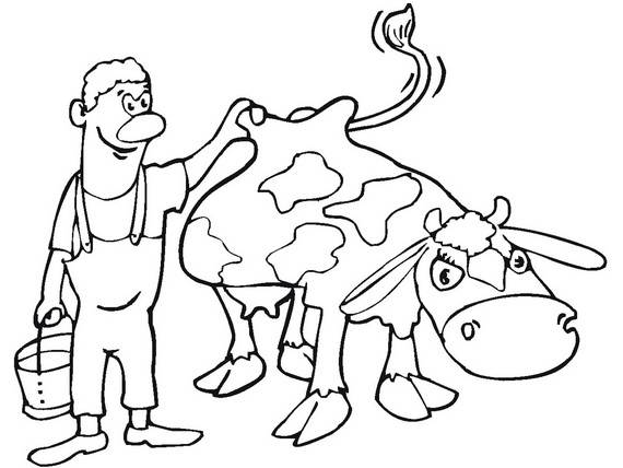 570x428 Free Printable Labor Day Coloring Page Sheets For Kids