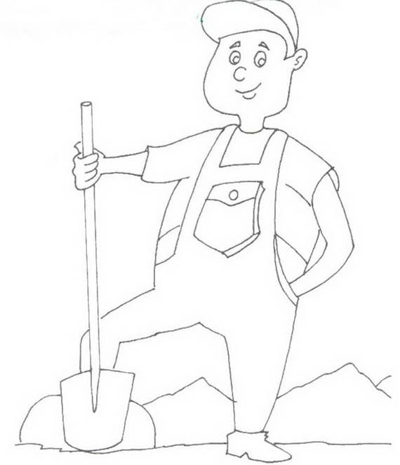 570x662 Free Printable Labor Day Coloring Page Sheets For Kids