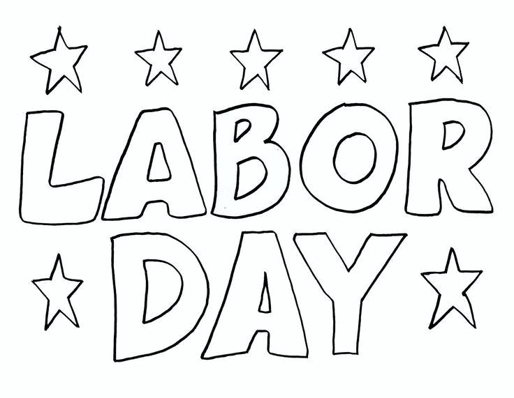 736x571 Free Printable Labor Day Coloring Pages Best Images On Color