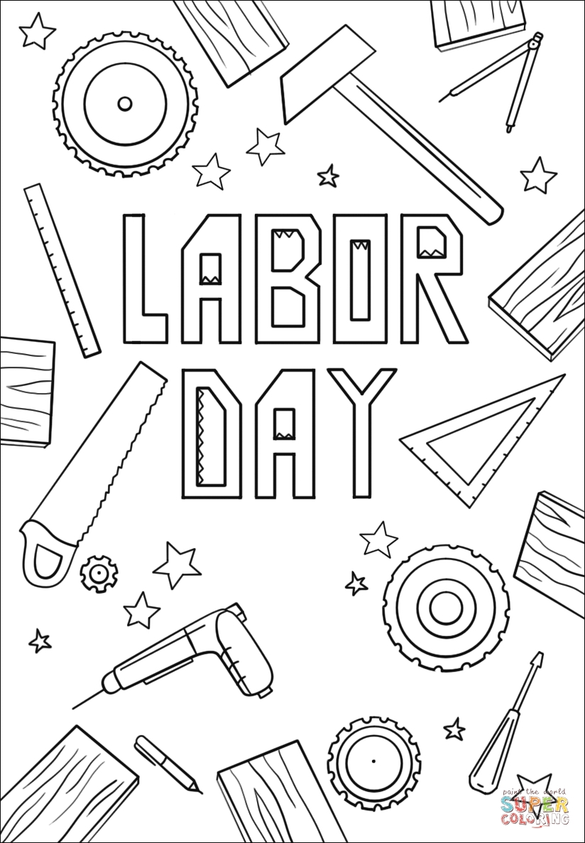 824x1186 Fresh Labor Day Coloring Pages Design Free Coloring Pages