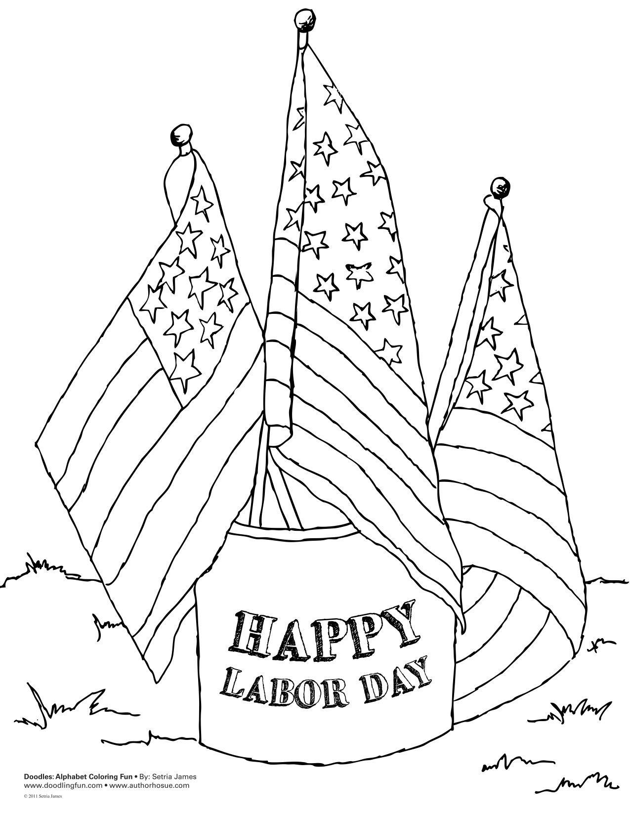 1275x1651 Labor Day Coloring Pages