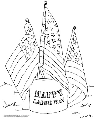 309x400 Labor Day Coloring Pages For Cute Labor Day Coloring Pages Free