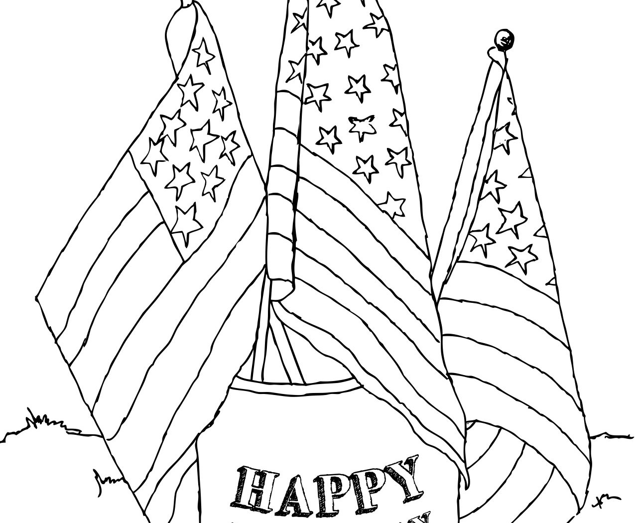 1275x1050 Labor Day Coloring Pages For Kids Free Printable Happy Adults