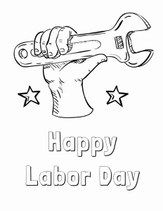232x300 Labor Day Coloring Pages Photograph Labor Day Coloring Pages Free