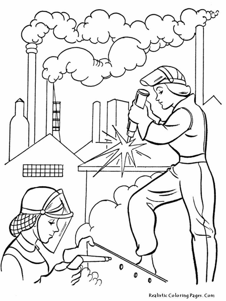 768x1024 Best Labor Day Coloring Pages Free Free Printable