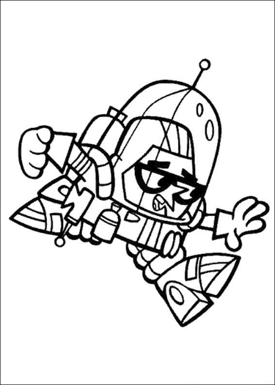 567x794 Fun Coloring Pages Dexter's Laboratory Coloring Pages