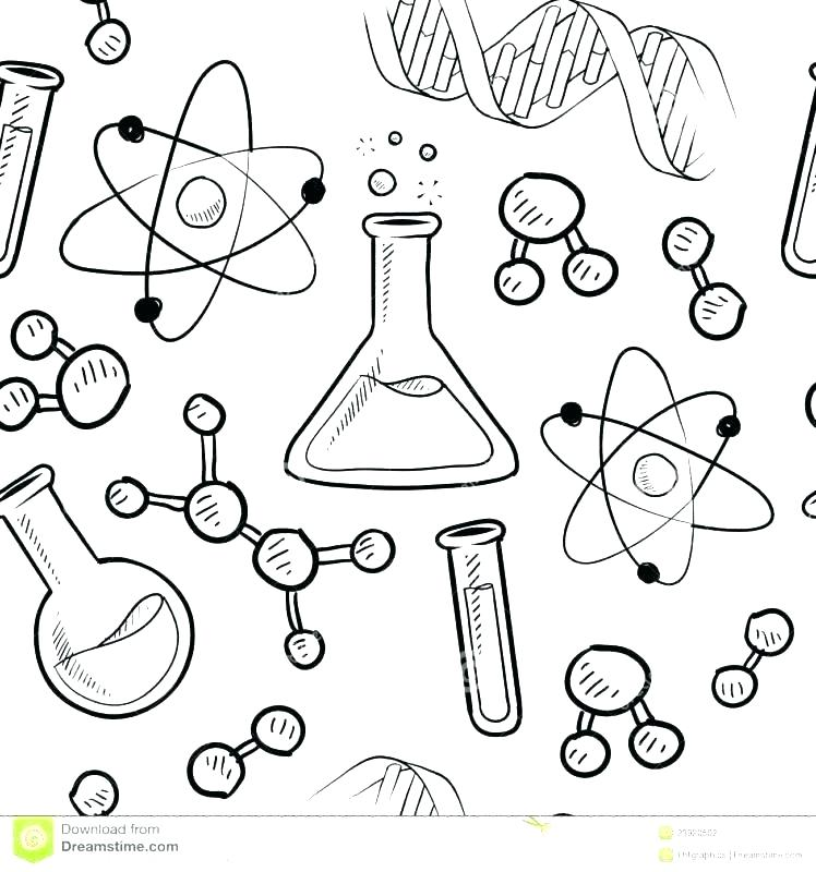 748x800 Funny Zombie Mad Scientist Coloring Page Stock Vector Funny Zombie