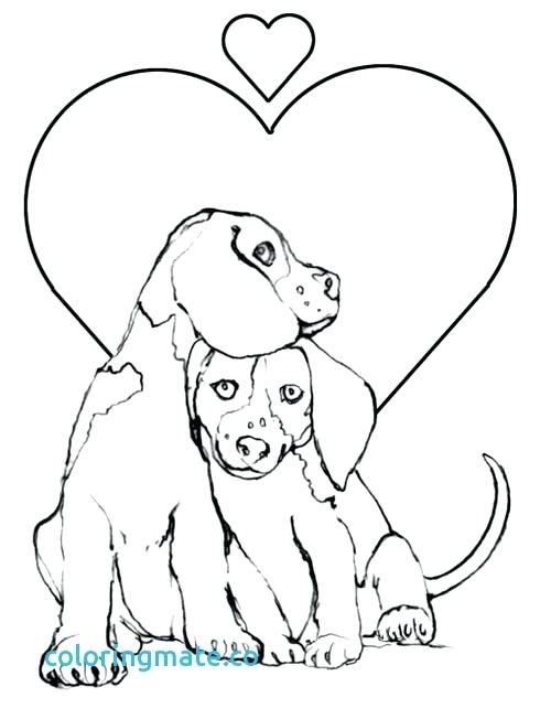 500x652 Dog Color Pages Free Printable Dog Coloring Pages Puppy Dog