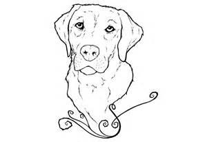 300x206 Labrador Coloring Pages