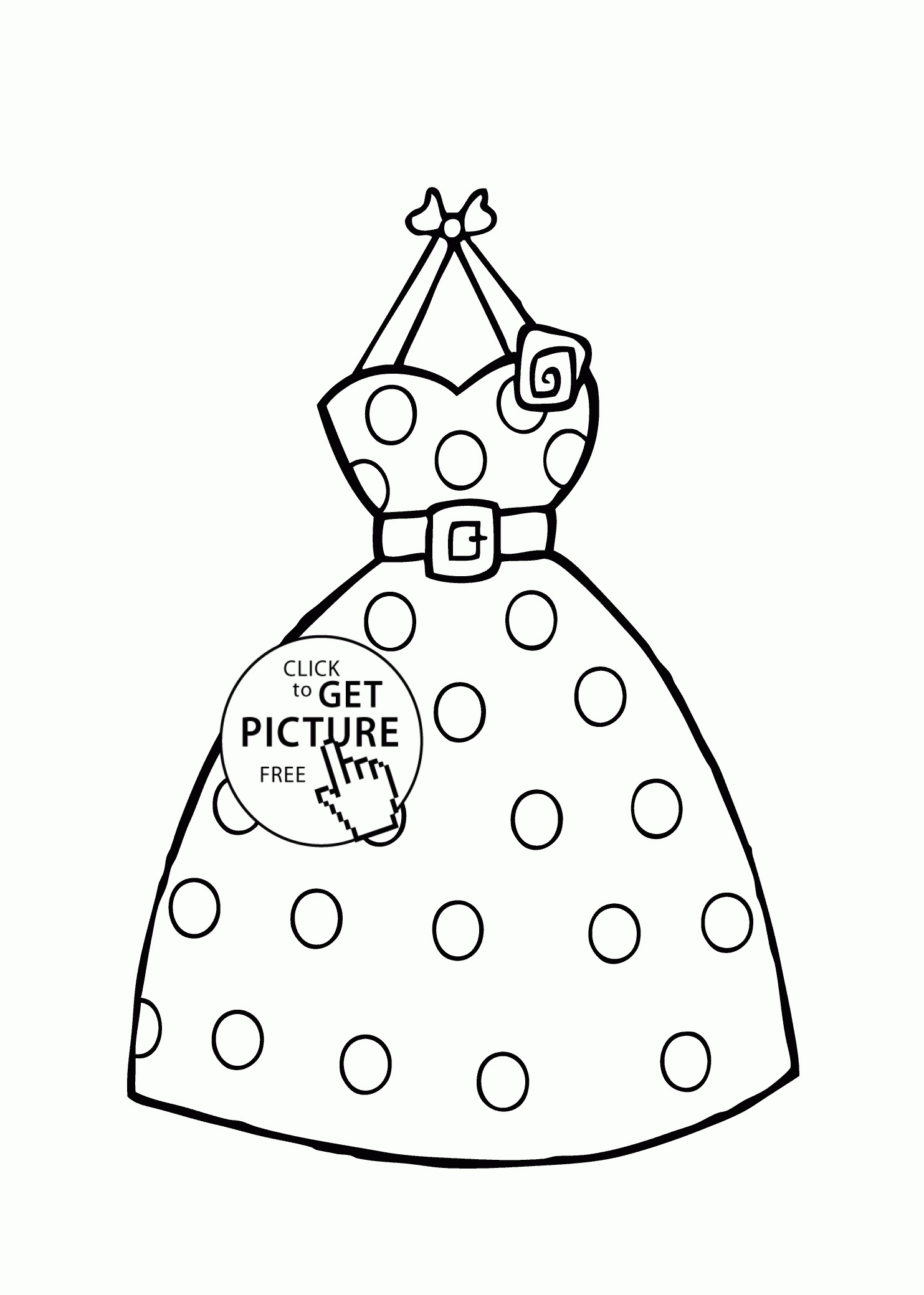 1483x2079 Dress Lace Coloring Page For Girls Inspirational Coloring Pages