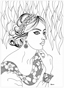 218x300 New Free And Exclusive Coloring Pages For Adults