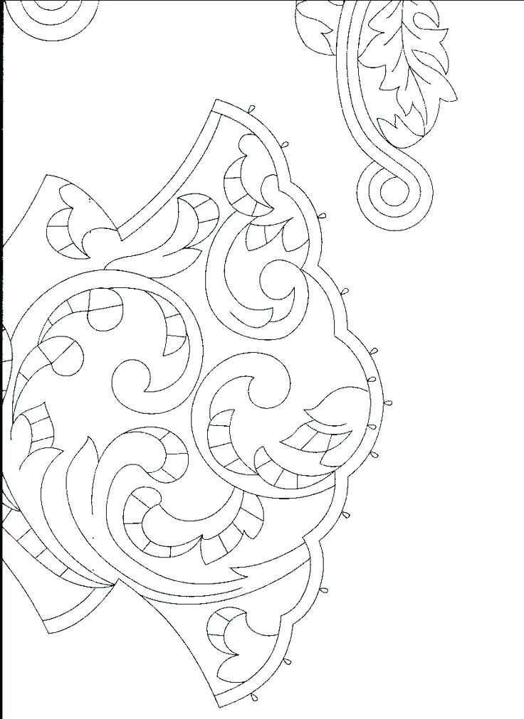 736x1011 Pine Green Coloring Page All Blank And Waiting For You
