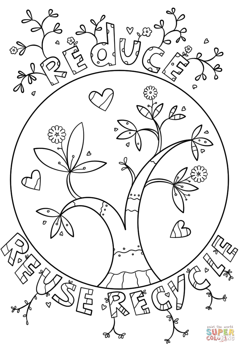 824x1186 Recycling Coloring Pages Collections Free Coloring Pages