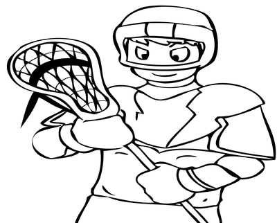 400x322 Lacrosse Coloring Sheets Print This Page Favorite Sports Pages