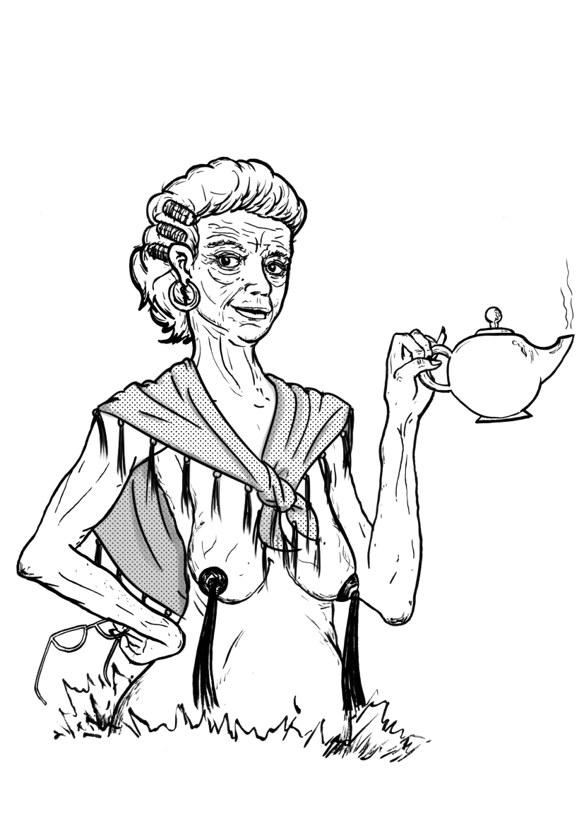 827x1169 There Was An Old Lady Coloring Page