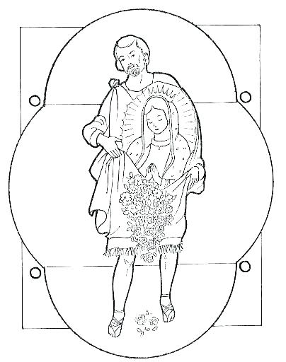 404x512 Our Lady Of Fatima Coloring Pages