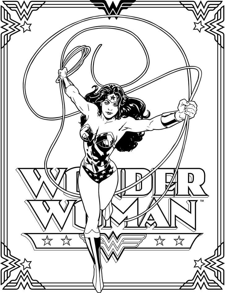 727x947 Wonder Woman Coloring Pages Coloring Pages For Kids