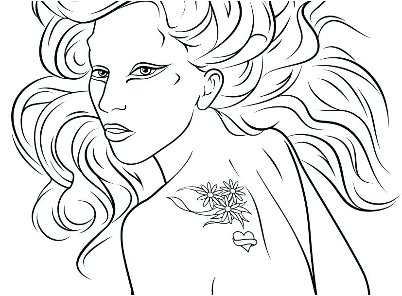 827x609 Lady Gaga Coloring Pages Lady Gaga Coloring Pages The Lady Gaga