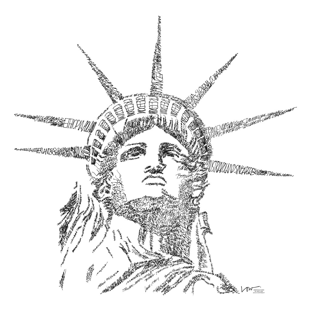 1024x1024 Coloring Page Statue Of Liberty Free To Print Pages Printable