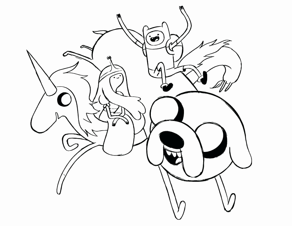 Lady Rainicorn Coloring Pages_