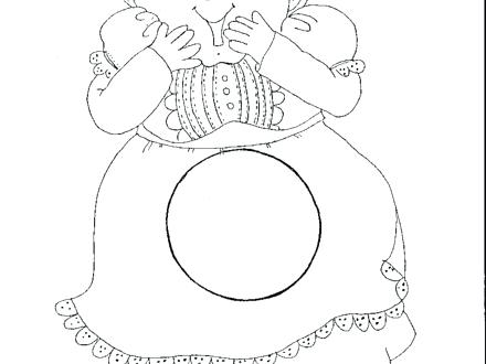 440x330 Old Lady Coloring Page There Old Lady Swallowed Fly Coloring Pages