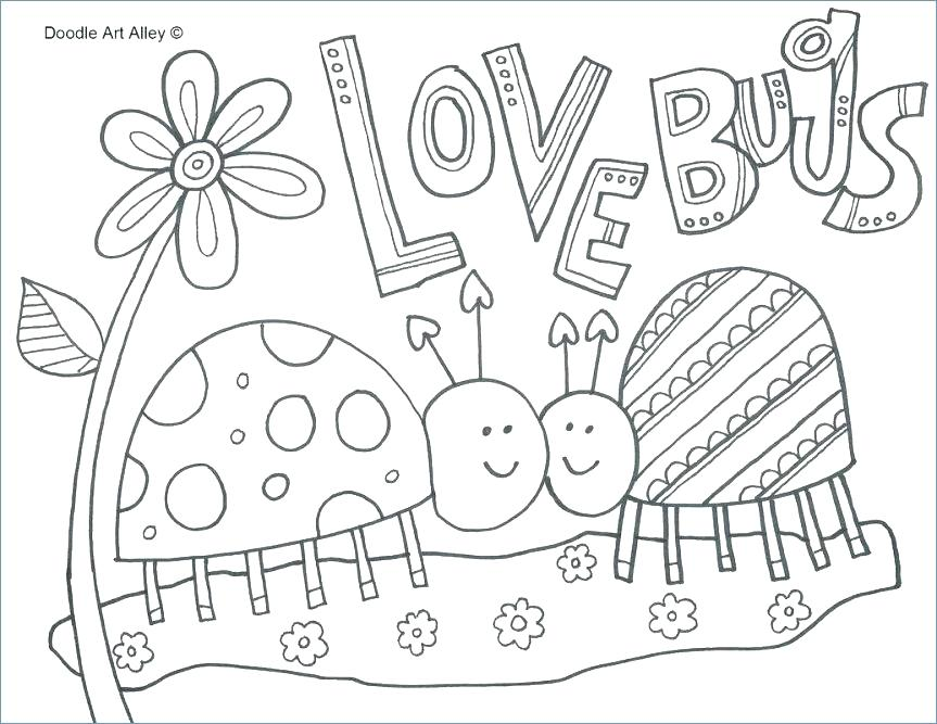 863x667 Disney Coloring Pages For Girls Bug Coloring Pages Coolest Bug