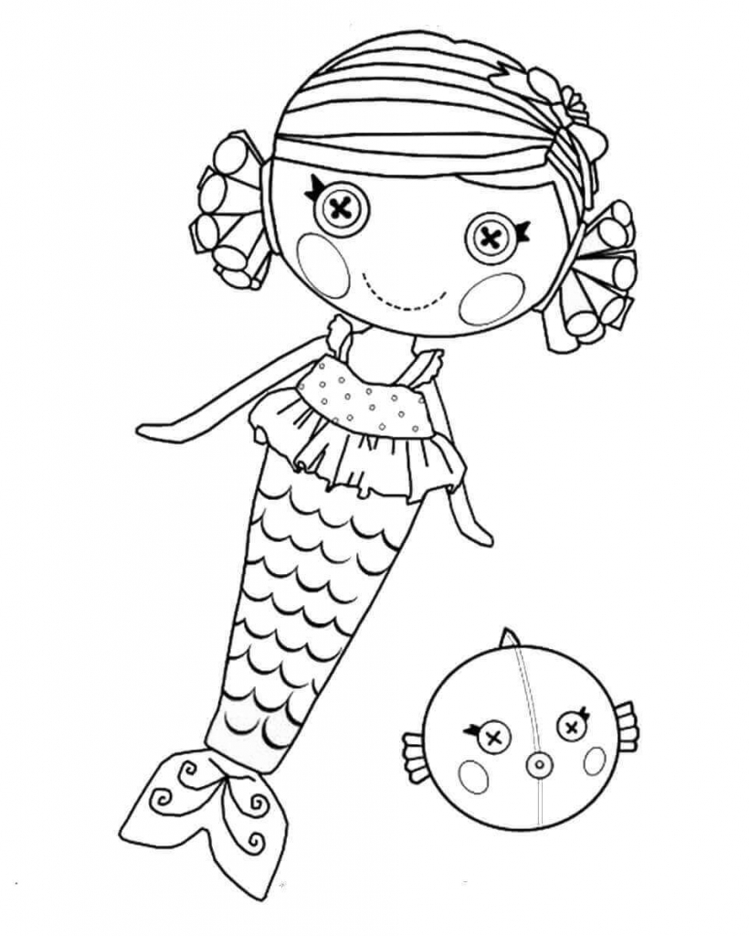 Lalaloopsy Baby Coloring Pages