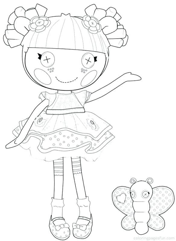 584x800 Lalaloopsy Coloring Page Hoe To Draw Coloring Page Lalaloopsy