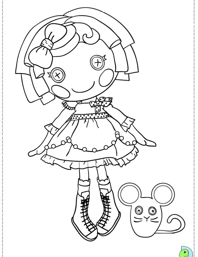 691x900 Lalaloopsy Coloring Pages Colouring Pages