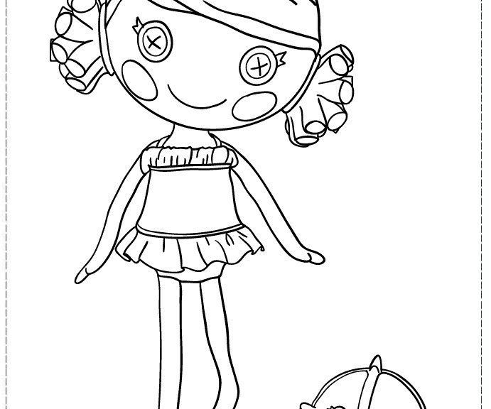 691x576 Lalaloopsy Coloring Pages Colouring Pages