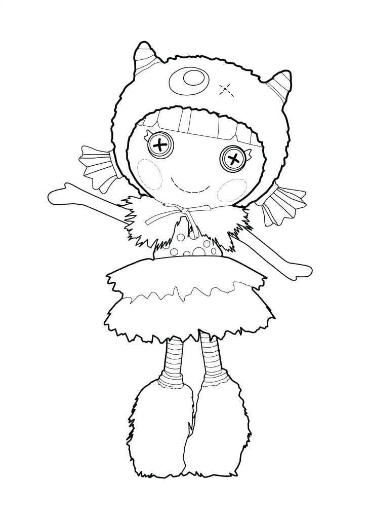 731x1024 Lalaloopsy Coloring Pages Luxury Ideas Free Printable Coloring