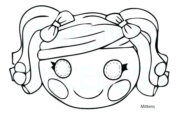 570x369 Lalaloopsy Coloring Pages Pictures To Color The Best Dolls