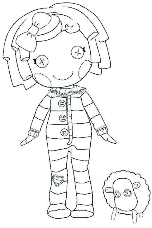 488x730 Peanut Coloring Page Lalaloopsy Coloring Pages Peanut Big Top