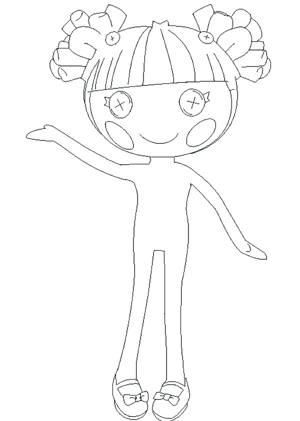 600x843 Coloring Pages Lalaloopsy Coloring Pages Hoe To Draw Coloring Page
