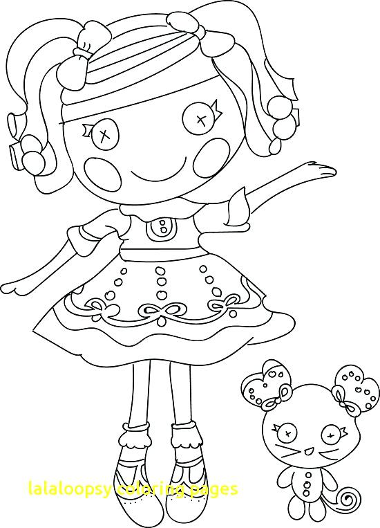 550x763 Free Printable Lalaloopsy Coloring Pages With Kids N Fun